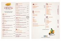 Menu - Croq'Me Restaurant - Siem Reap Cambodia
