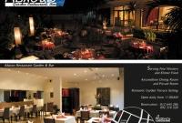 Flyer - Abacus Restaurant - Siem Reap Cambodia