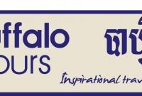 Signboard - Buffalo Tours, Travel Agency - Siem Reap Cambodia