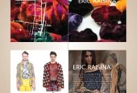 Brochure / Leaflet - Eric Raisina, Fashion Designer - Siem Reap Cambodia